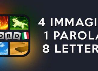 4 immagini 1 parola 8 lettere