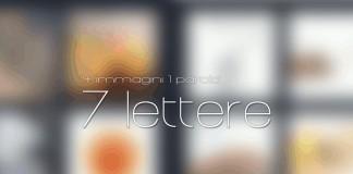 4 immagini 1 parola livelli con 7 lettere