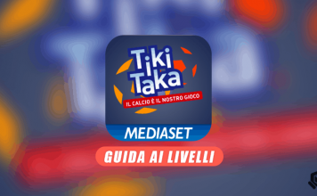 Soluzione Tiki Taka Livello