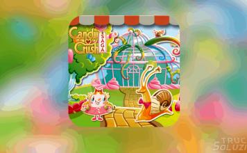 Candy Crush Saga Gummy Gardens