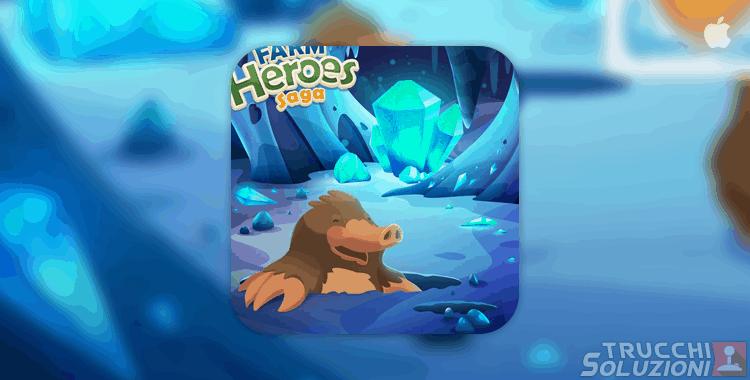 Soluzioni Farm Heroes Crystal Caves