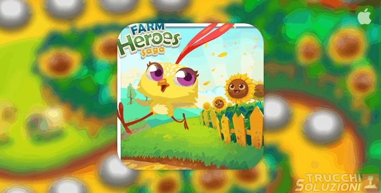 Soluzioni Farm Heroes Sunny Settlement