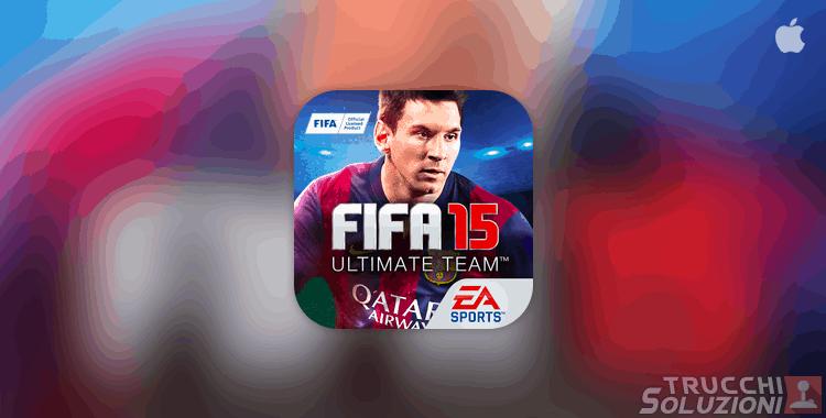 Trucchi FIFA 15 Ultimate Team iPhone e iPad