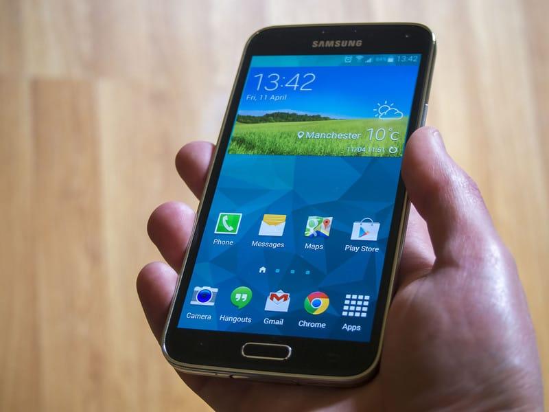Formattare Galaxy S5
