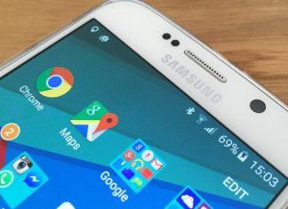 Percentuale batteria Galaxy S6