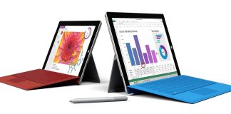 Surface 3 e Surface 3 Pro