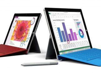 Surface 3 e Surface 3 Pro