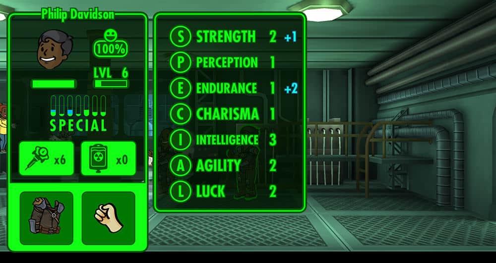 Come migliorare le SPECIAL in Fallout Shelter