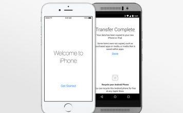 Come passare da Android a iPhone 6S