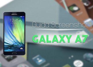 Screenshot Samsung Galaxy A7