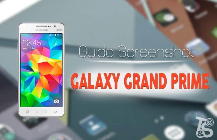 how to take a screenshot samsung grand prime