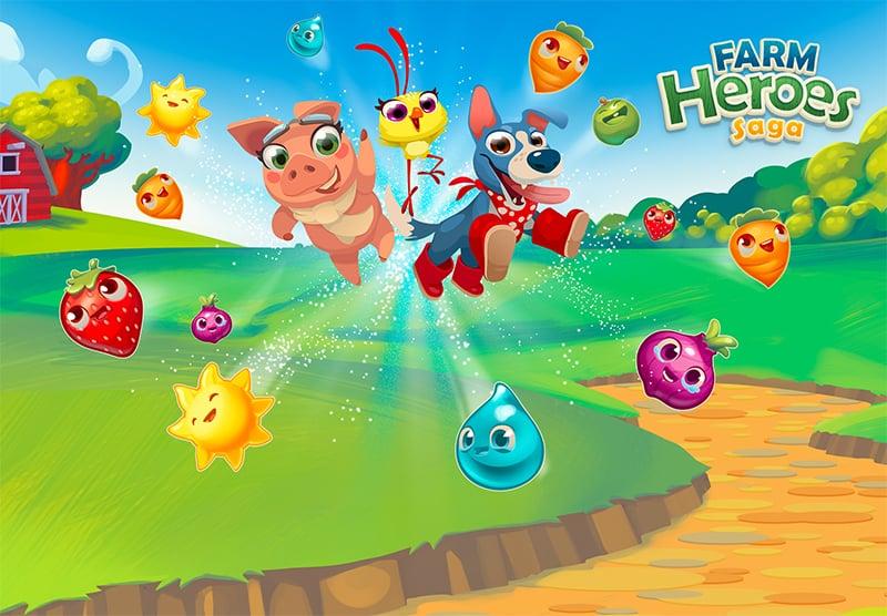 Farm Heroes Lucciole