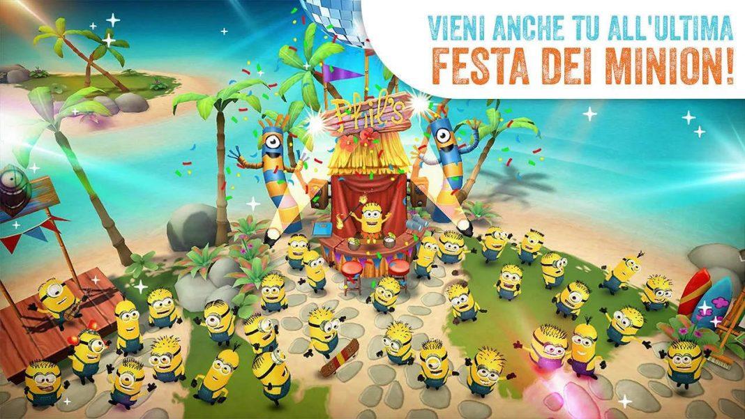 Minions Paradise per Android e iOS
