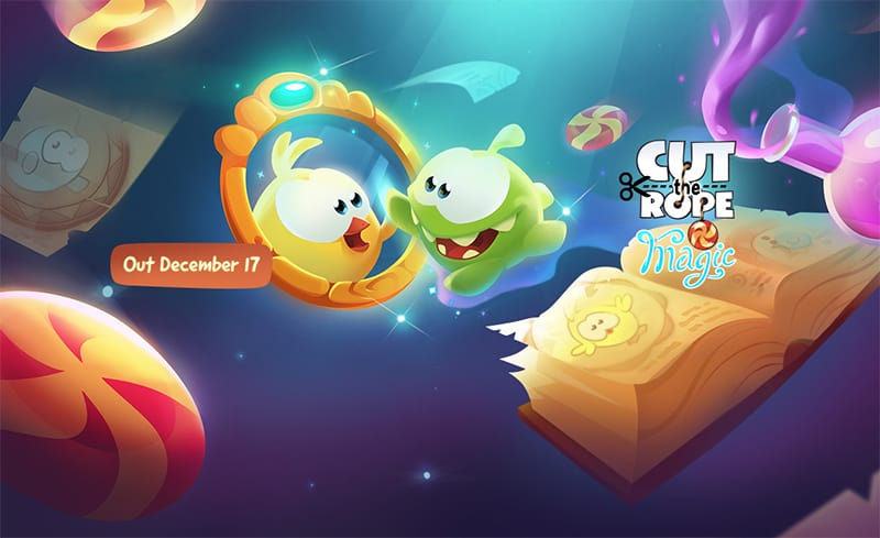 Cut the Rope Magic arriva sull'App Store