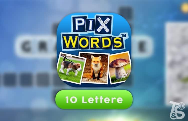 Soluzioni PixWords 10 Lettere