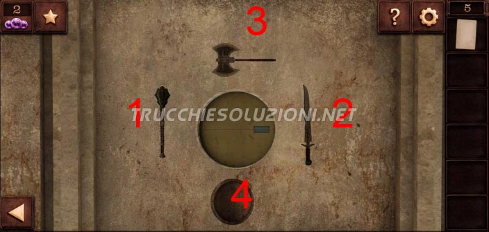 Soluzioni Can You Escape Tower 2 Livello 5