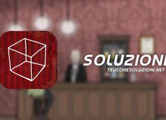 Soluzione Cube Escape Theatre