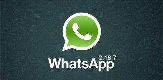 Aggiornamento WhatsApp 26 Luglio