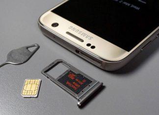 Togliere PIN SIM Samsung S7
