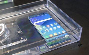 Galaxy Note 7 può andare sott'acqua