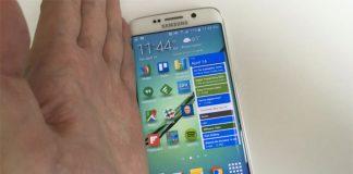 Screenshot Samsung S7