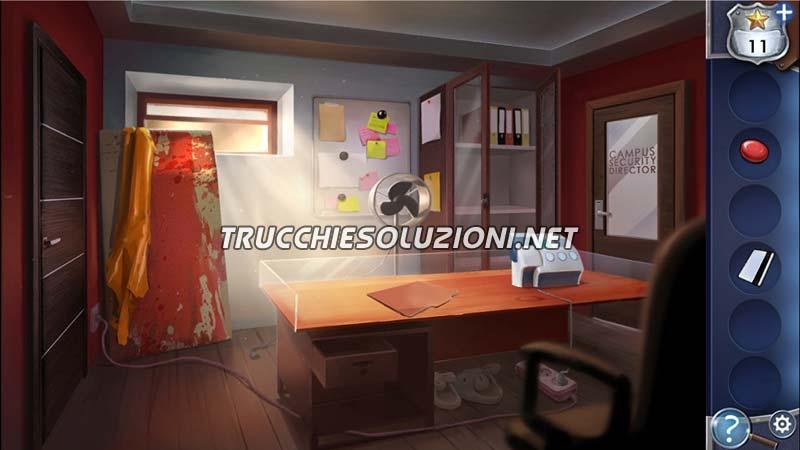 soluzioni Adventure Escape Framed for Murder