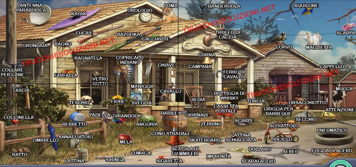Soluzione livelli criminal case posizione degli oggetti for Case di livello tri
