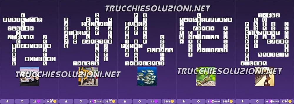 Soluzioni Crossword Cruciverba illustrati capitolo 3