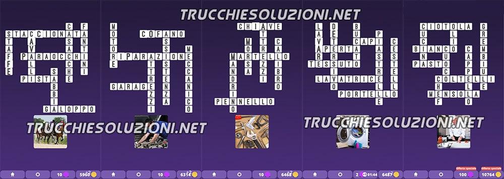 Soluzioni Cruciverba illustrati Capitolo 4