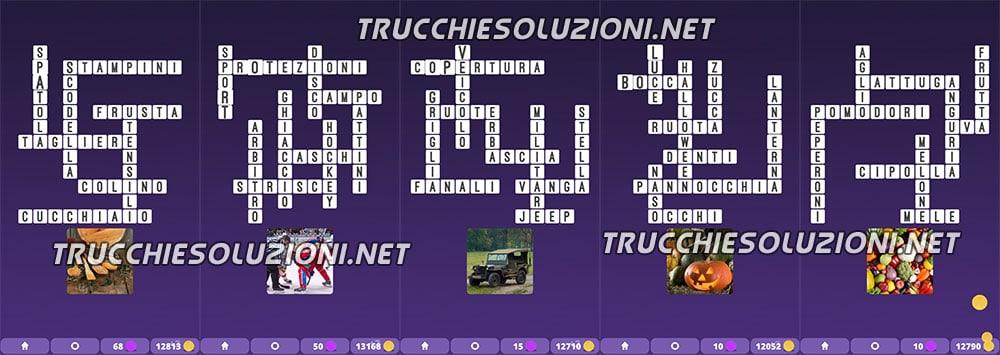 soluzioni Cruciverba illustrati Capitolo 7