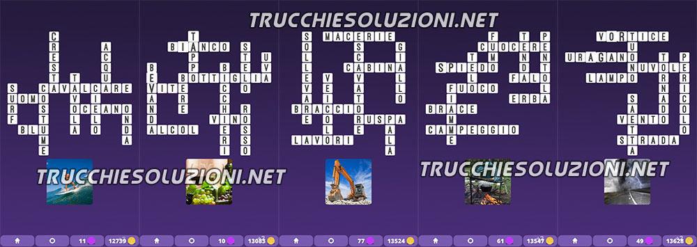 soluzioni Cruciverba illustrati Capitolo 8