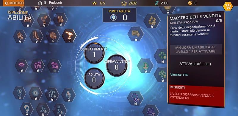 Trucchi Shadowgun Legends Abilità