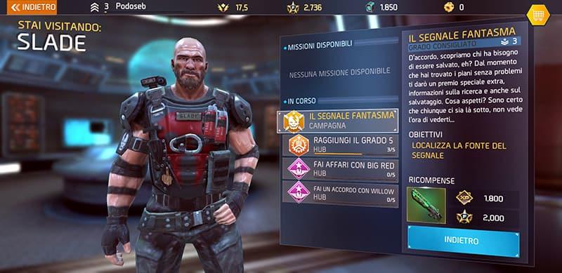 Trucchi Shadowgun Legends Slade