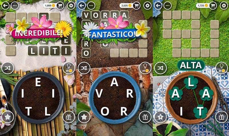 Soluzioni giardino delle parole trucchi e soluzioni for Soluzioni giardino