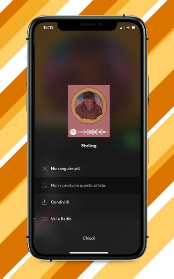 Bloccare un Artista su Spotify